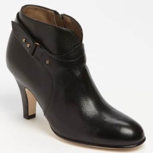 Anyi Lu Black Leather Ankle Boots Italy 40.5 $485